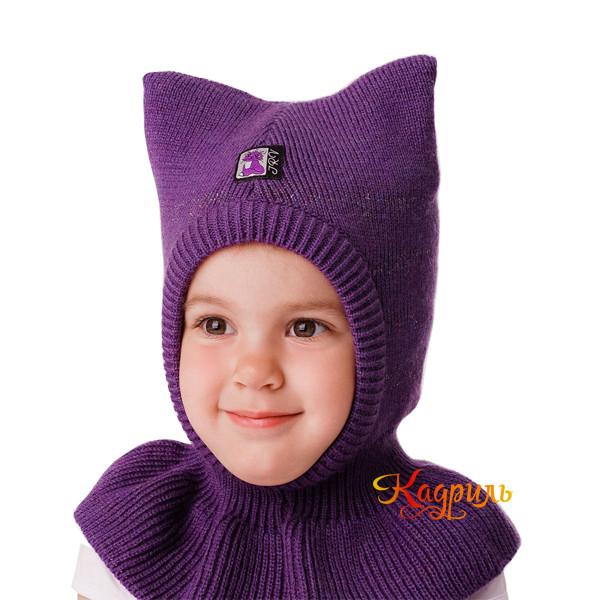 Детская шапка-шлем с ушами. Рис. 2