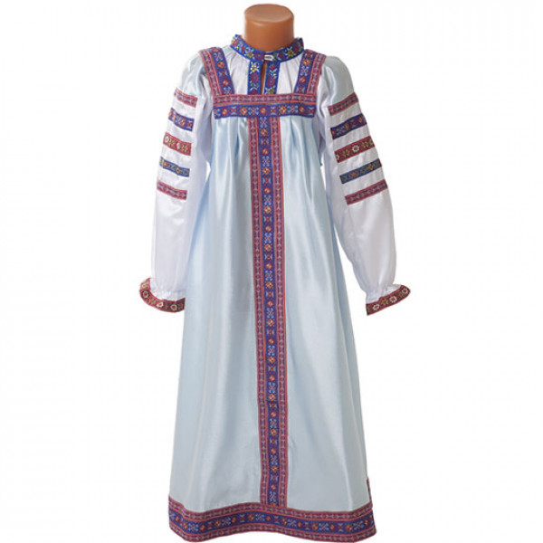 Русский народный сарафан. Рис. 3