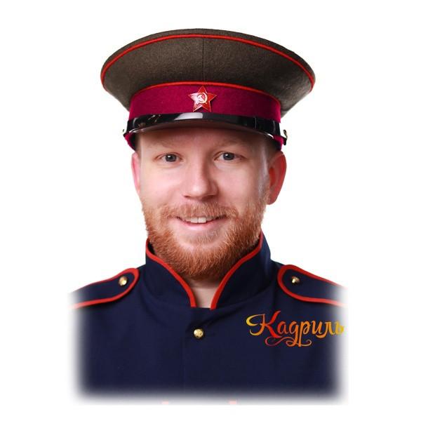Фуражка РККА пехота. Рис. 2