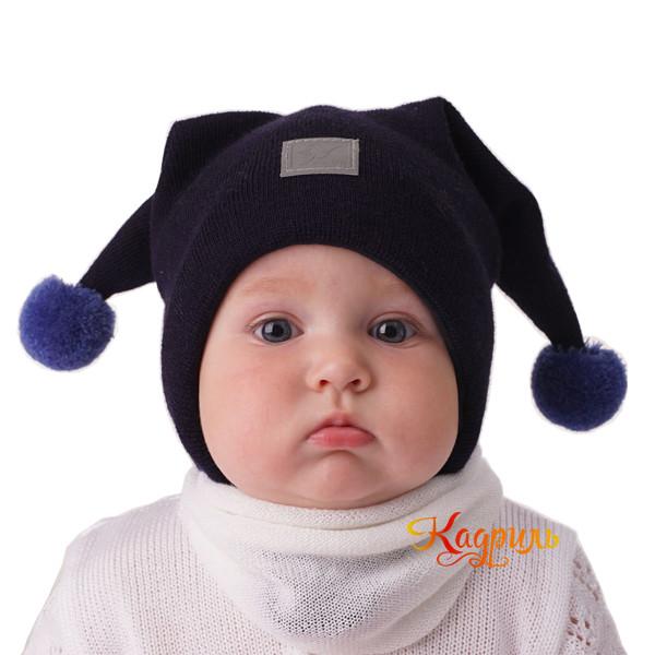 Детская шапка с ушками. Рис. 2