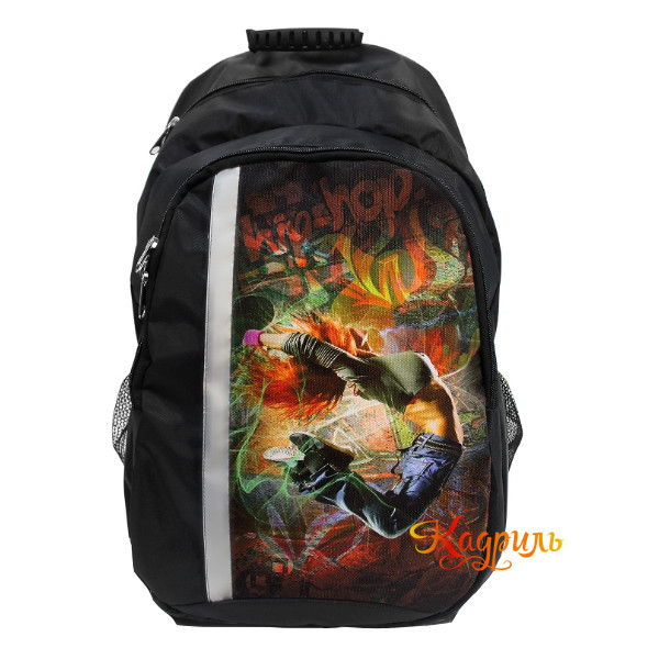 Спортивный рюкзак с рисунком. Рис. 1