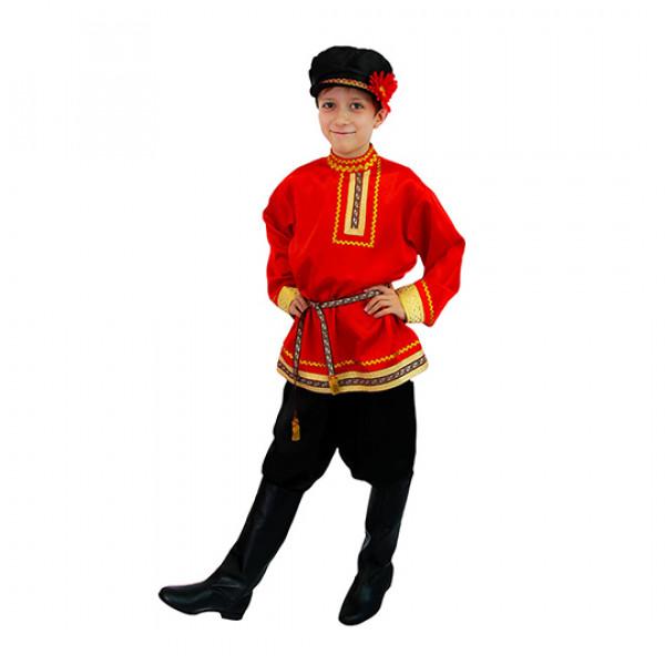 Народный костюм для мальчика. Рис. 1