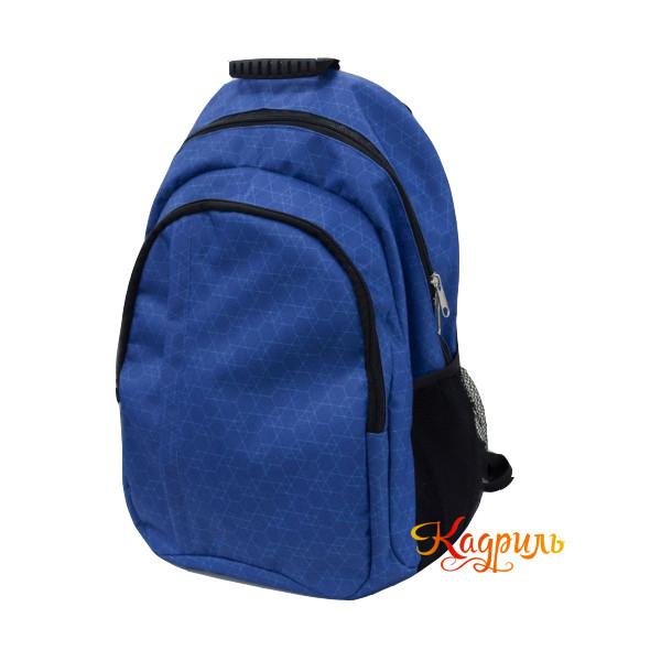 Лёгкий спортивный рюкзак синий. Рис. 2