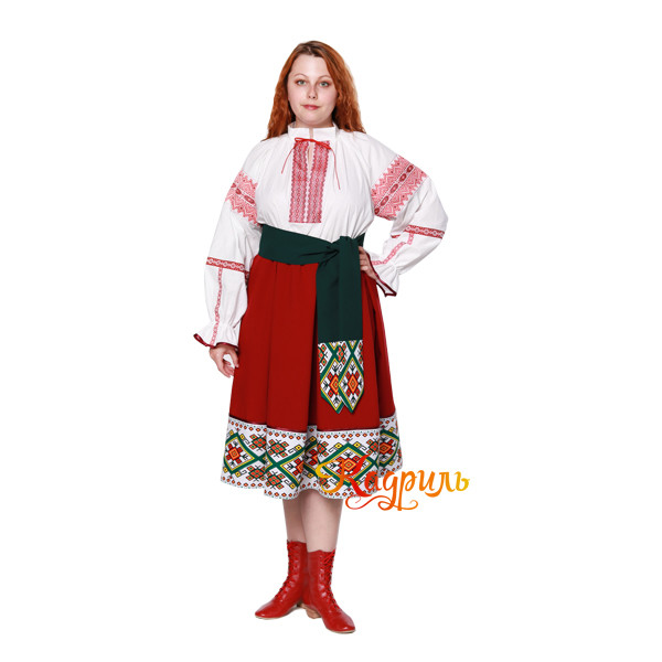 Молдавский костюм. Рис. 3