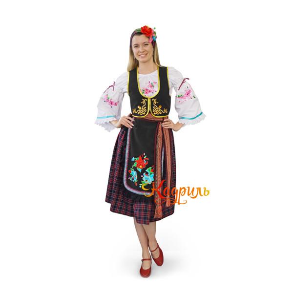 Костюм сербский женский. Рис. 1