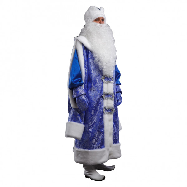 Костюм Деда Мороза современный. Рис. 2