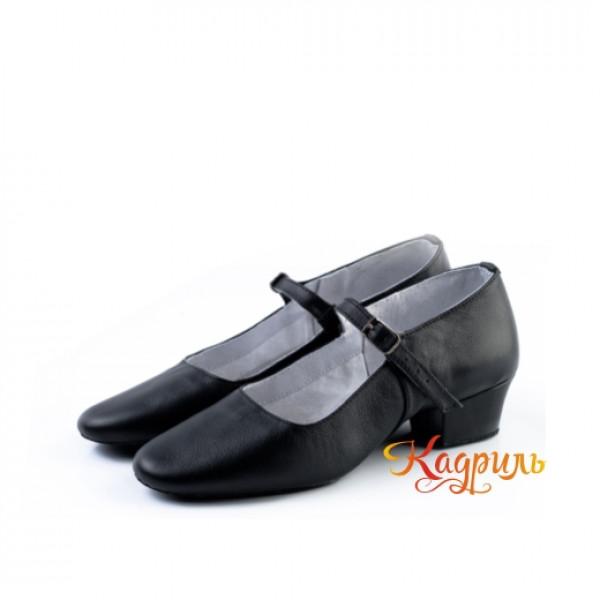 Туфли народные на раздельной подошве. Рис. 6