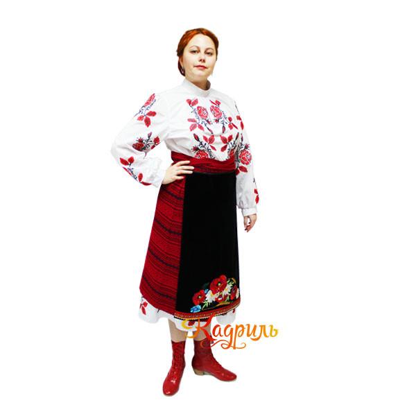Украинский костюм с вышивкой. Рис. 2