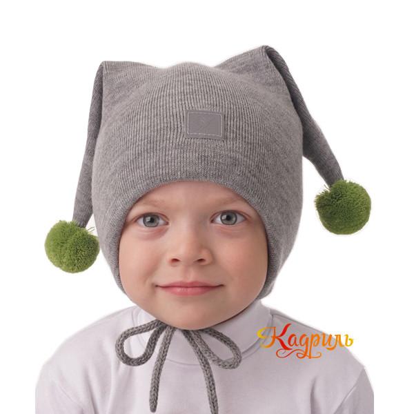 Детская шапка с ушками. Рис. 3