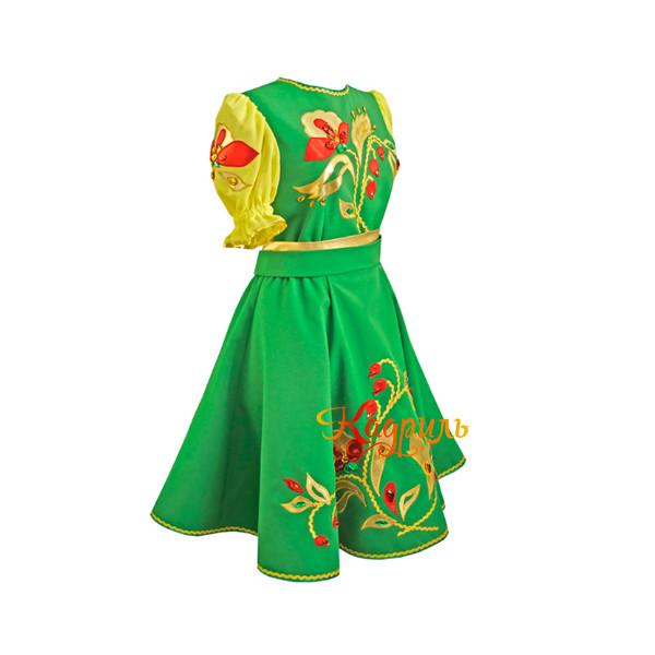 Русское народное платье для танца. Рис. 3