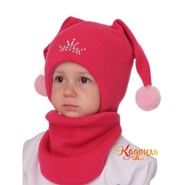 Детская зимняя шапка с ушками. Рис. 3