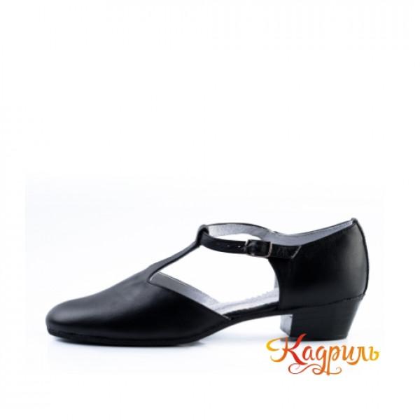 Туфли тренерские черные. Рис. 2