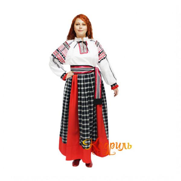 Костюм белгородский женский. Рис. 2