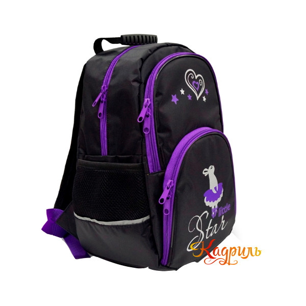 Рюкзак для девочки с рисунком. Рис. 2