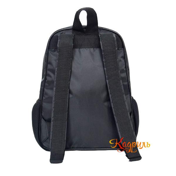 Рюкзак для девочки с балериной черный. Рис. 2