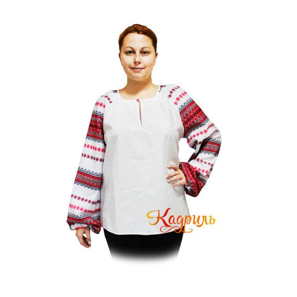 Славянская рубашка женская. Рис. 1