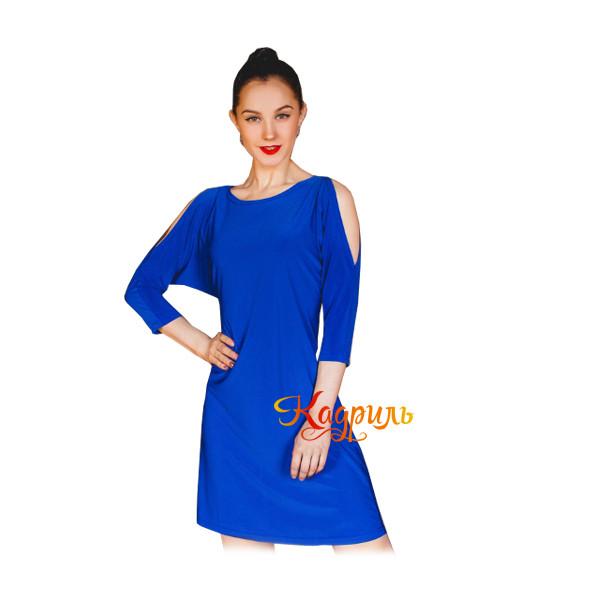 Платье бальное с открытыми плечами. Рис. 1