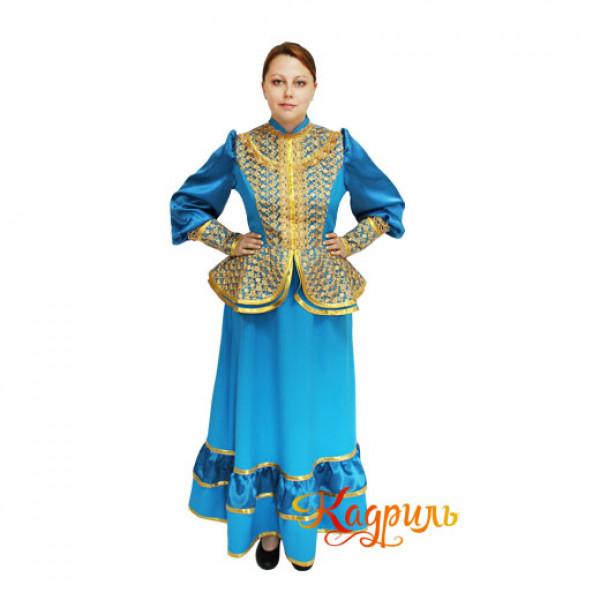 Кубанский казачий костюм. Рис. 1