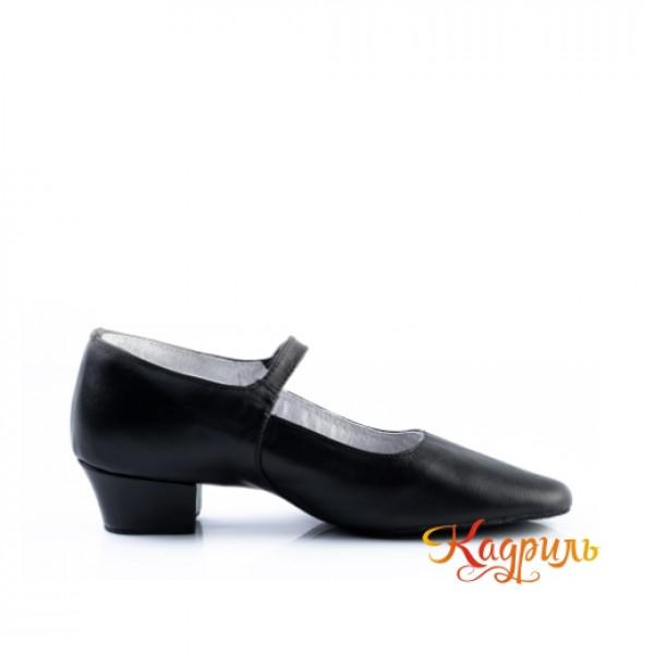 Туфли народные на раздельной подошве. Рис. 3