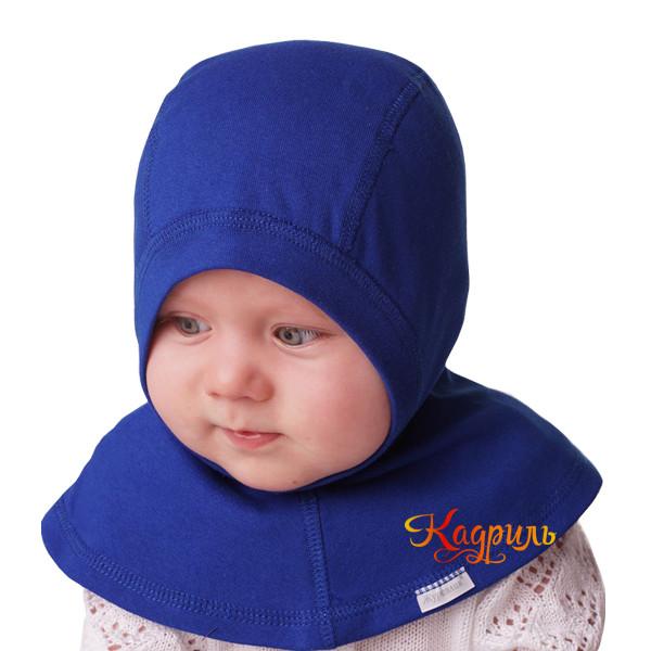 Детская шапка-шлем с манишкой. Рис. 4