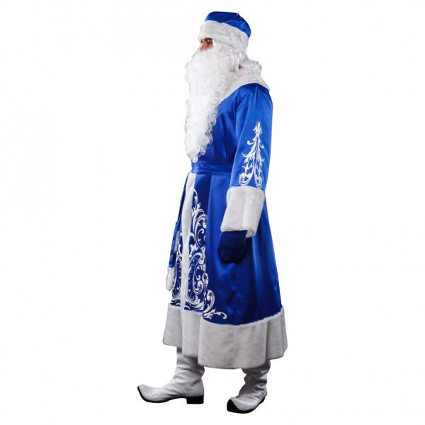 Костюм Деда Мороза синий. Рис. 2