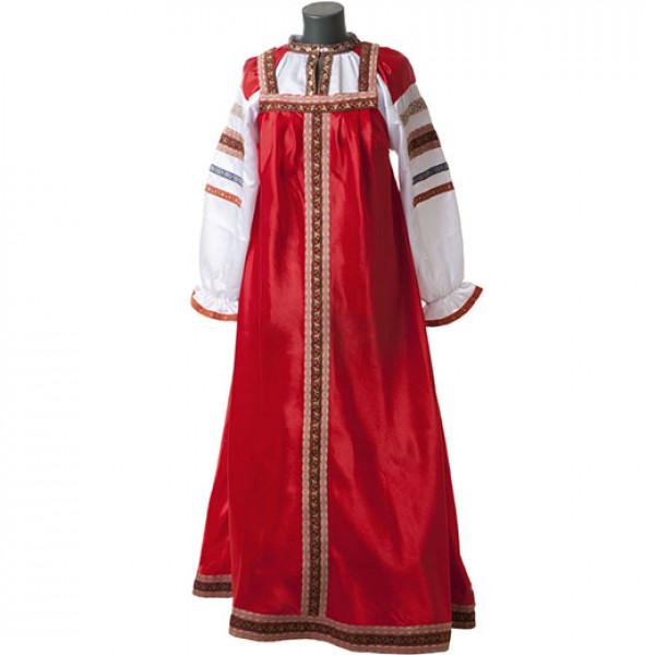 Русский народный сарафан. Рис. 1