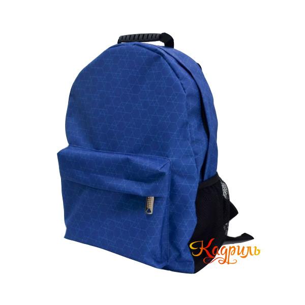 Лёгкий синий рюкзак. Рис. 2