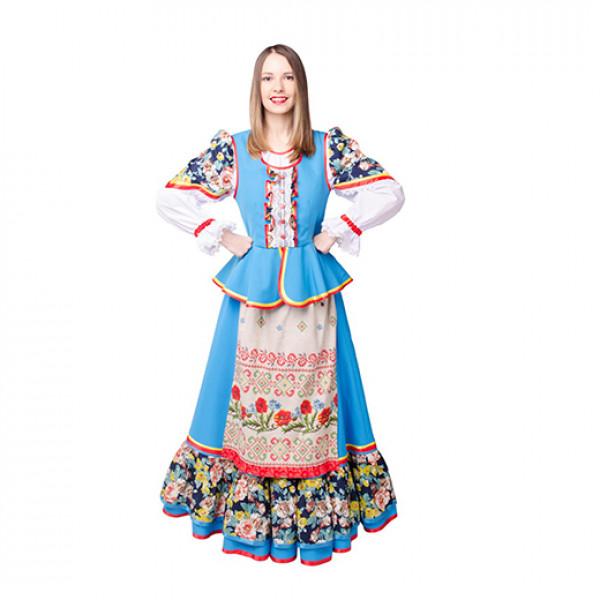 Казачий костюм женский. Рис. 1