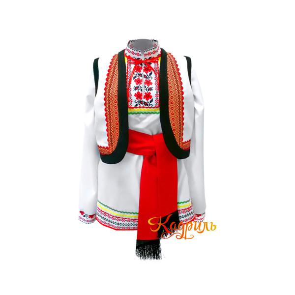 Костюм мужской молдавский. Рис. 1