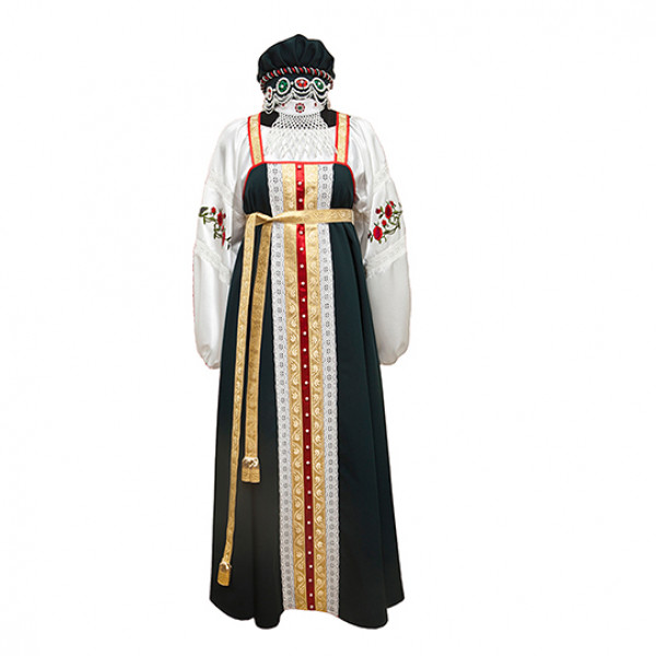 Классический костюм для хорового коллектива. Рис. 1