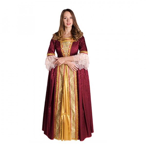 Историческое платье. Рис. 1