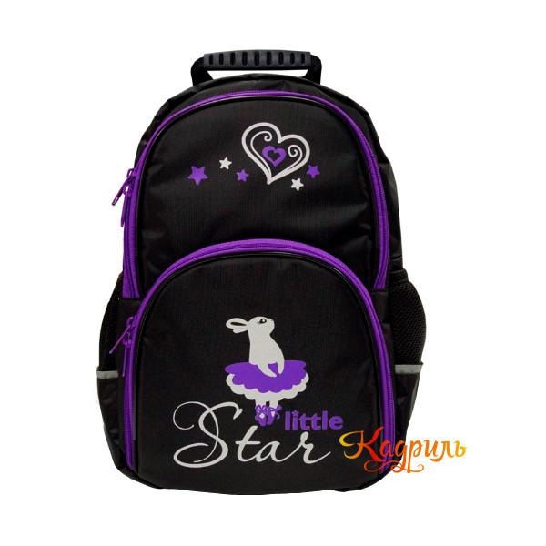 Рюкзак для девочки с рисунком. Рис. 1