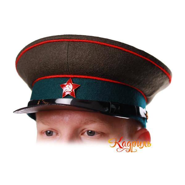Фуражка РККА. Рис. 1
