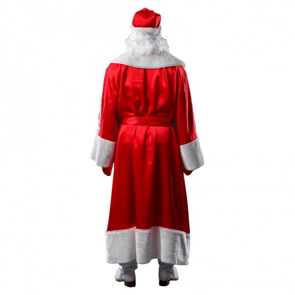 Костюм Деда Мороза красный. Рис. 3