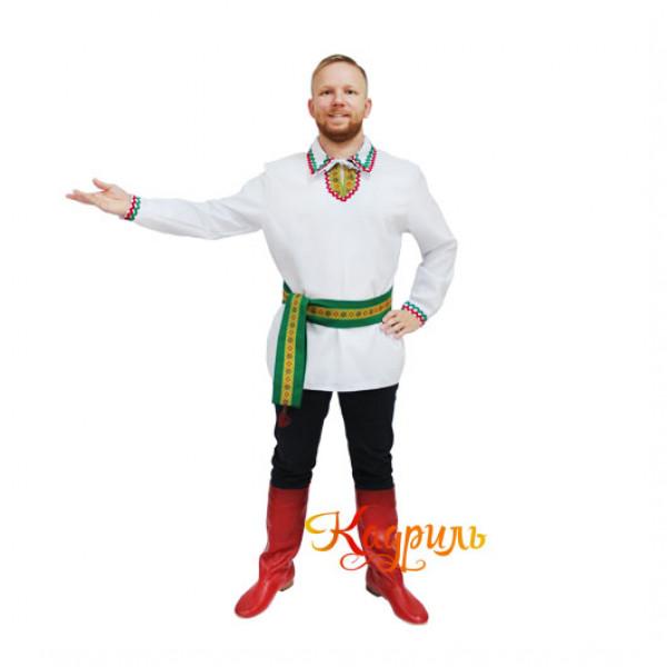 Костюм белорусский мужской. Рис. 2