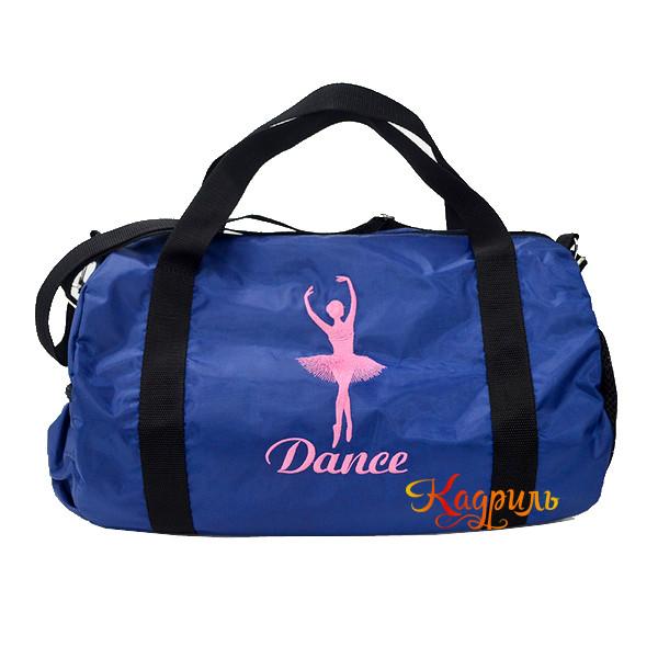 Сумка для танцев с балериной. Рис. 1