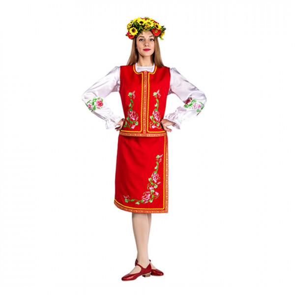 Костюм украинский. Рис. 1