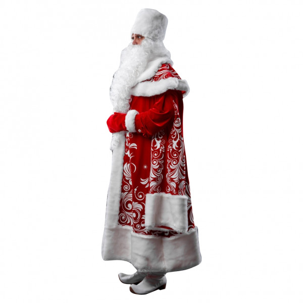 Костюм Деда Мороза боярин. Рис. 2