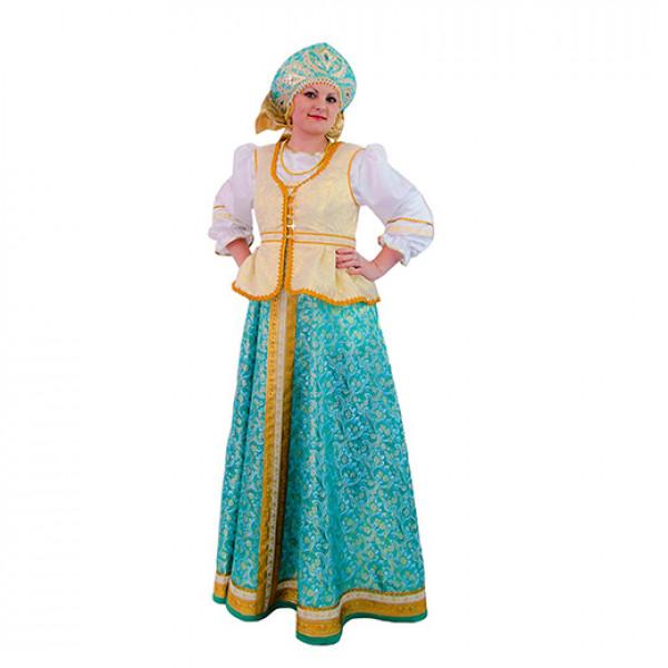 Концертный хоровой костюм. Рис. 1
