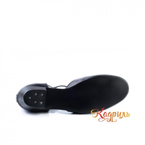 Туфли тренерские черные. Рис. 5