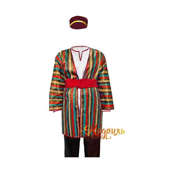 Костюм узбекский мужской. Рис. 1
