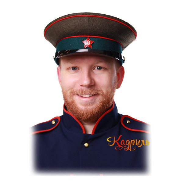 Фуражка РККА. Рис. 2