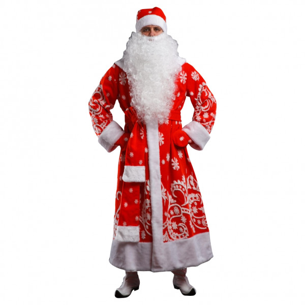 Костюм Деда Мороза меховой. Рис. 1