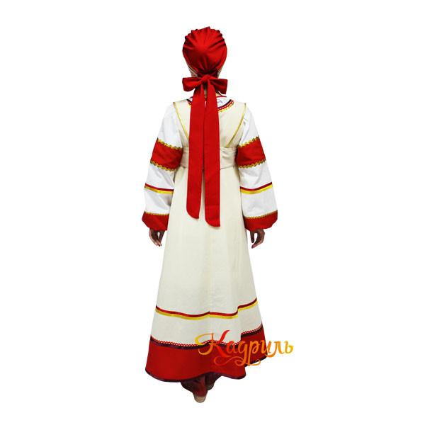 Народный костюм хоровой. Рис. 2