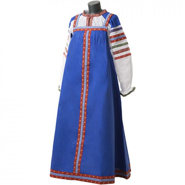 Русский народный сарафан. Рис. 9