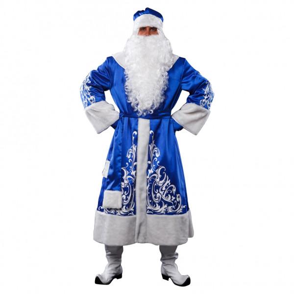Костюм Деда Мороза синий. Рис. 1