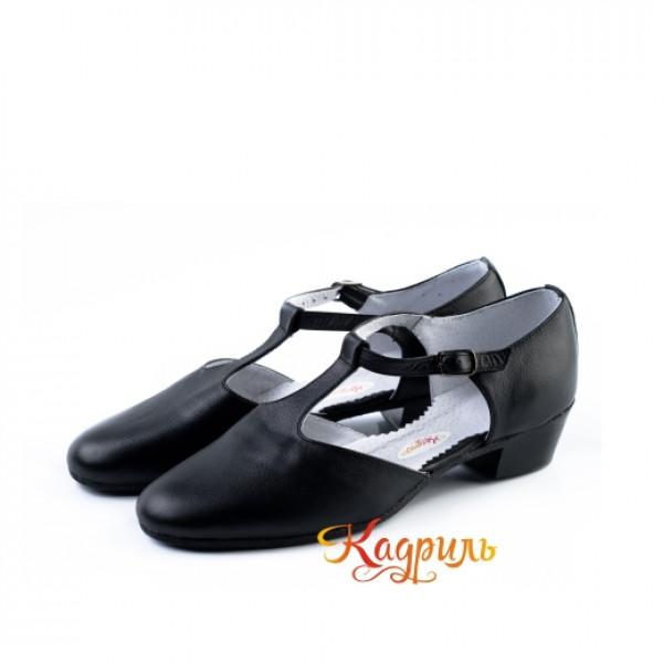 Туфли тренерские черные. Рис. 6