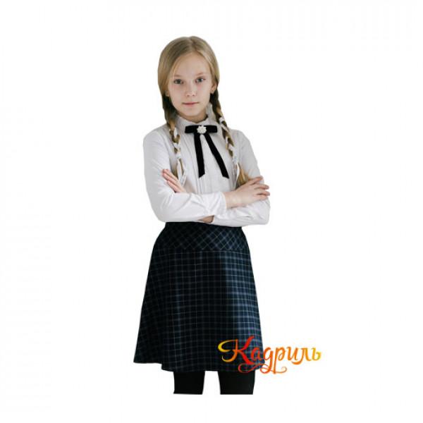 Очень красивая школьная форма для девочек. Рис. 1