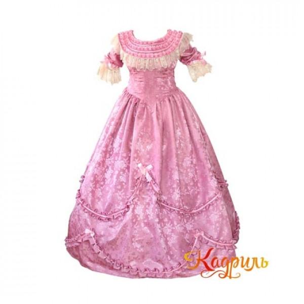 Платье дворянское. Рис. 1