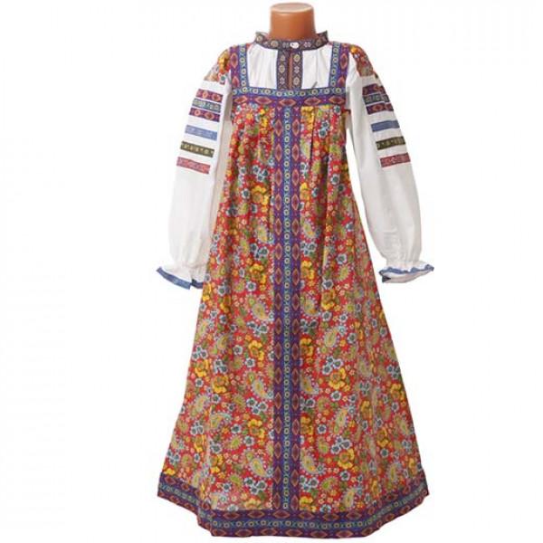 Фольклорный костюм. Рис. 1